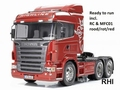 Scania R620 rood Full Optionn RTR  1/14